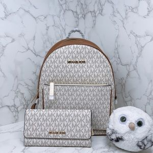 Michael Kors Adina Medium Backpack Set